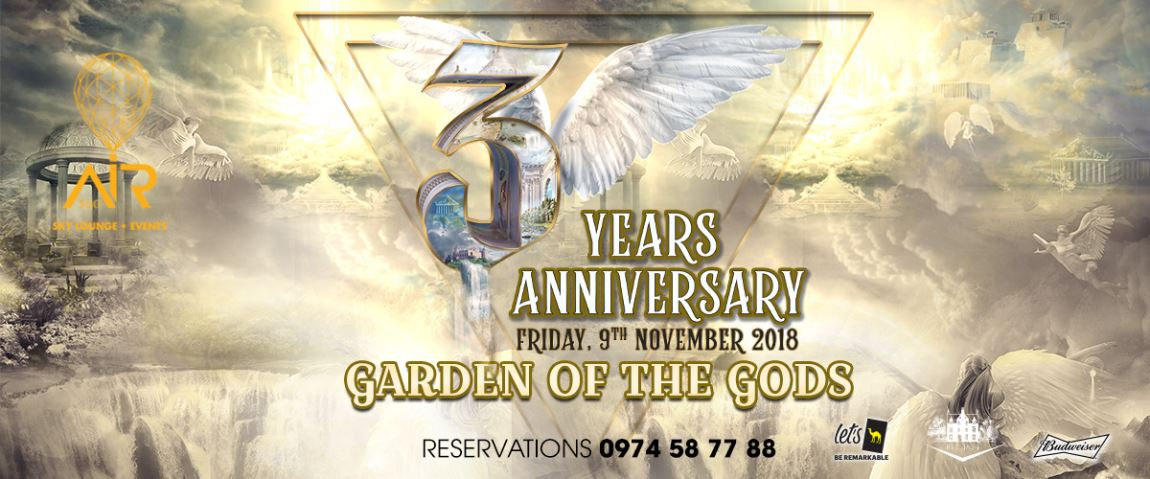 THE MAGNIFICENT 3 YEARS ANNIVERSARY OF AIR 360 SKY LOUNGE