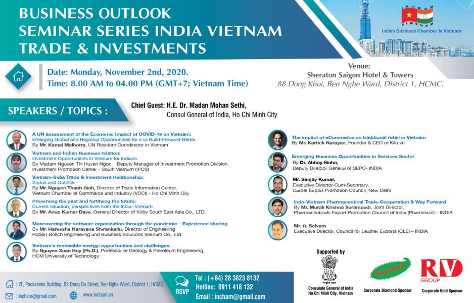 Outlook: India - Vietnam Trade & Investments