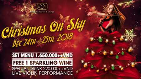 EON 51: Red Christmas Dining Feast On Sky