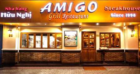 "Amigo Grill earns ""Vietnam's Top Ten Best Restaurants"" title"