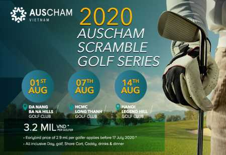 AusCham: Scramble Golf Series in Hanoi, HCMC and Danang 2020