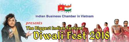 DIWALI: INCHAM HOSTS THE BIGGEST FESTIVAL FOR INDIAN IN VIETNAM