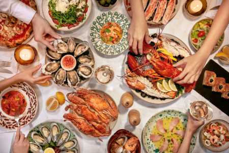 OPERA: Its first international seafood buffet