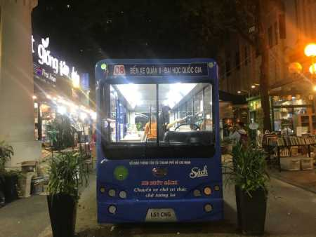 Book Bus to stop on Saigon's Book Street in celebration of Vietnam Book Day