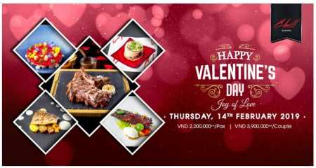 CHILL DINING: Special Valentine's Menu For 2019