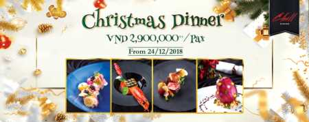 CHILL DINING: Special Christmas Menu 2018