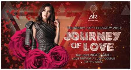 AIR 360 SKY LOUNGE: ROMANTIC VALENTINE EVENT & MENU AT AIR 360 SKY LOUNGE