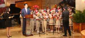 Festive Season kick-off with Christmas Tree Lighting Ceremony