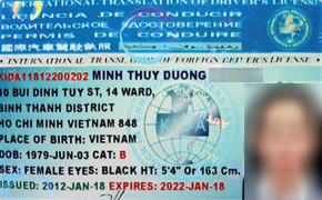 Vietnam to recognize international driver's license in 2015